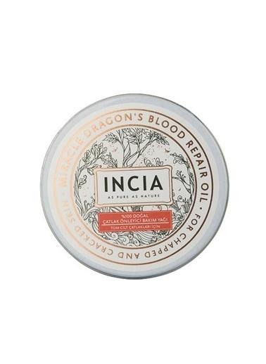 Incia INCIA Doğal Çatlak Önleyici Bakım Yağı 50 ml - Tüm Ciltler Renksiz